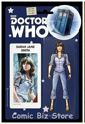 Doctor Who 4Th #3 (Of 5) (2016) Scarce Duk Exc Action Figure Variant Cover