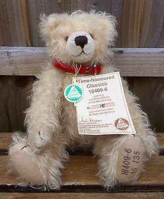 Martin Hermann 'time Honoured Classics' Ltd Edition Collector Teddy Bear 16409-6