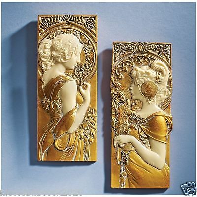 Art Nuveau Spirit Of The Seasons Sculpture Master Home Accents