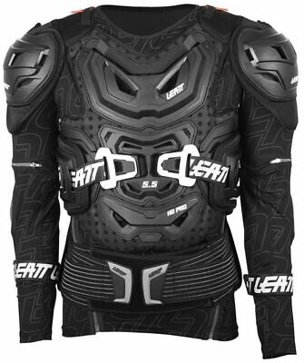 2016/2017  LEATT 5.5 BODY PROTECTOR SUIT ARMOUR  SMALL/MEDIUM  BLACK 160 - 172cm