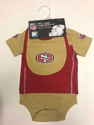 80f008a6b NFL SAN FRANCISCO 49ers INFANT 3-piece Set - Bodysuit