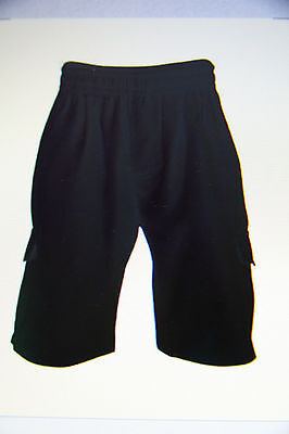 Psw School Cargo Shorts Navy And Grey Size 4 .6.8.10.12.14.16.sm & Med