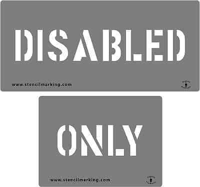 DISABLED ONLY STENCIL 1100mm WIDE