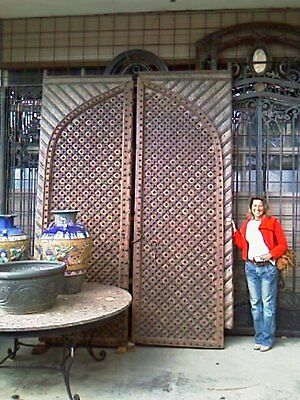 Antique Indian Fort Doors - Price Reduction Situated In Beaumaris, Melbourne
