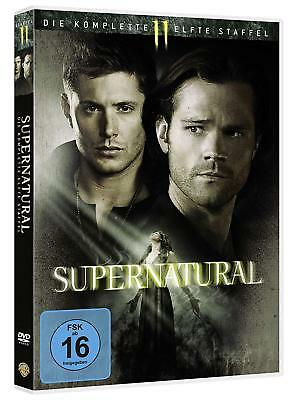 Supernatural 11 Die Komplette Dvd Season Staffel 11 Deutsch