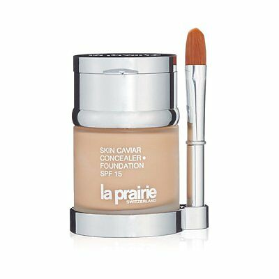 NEW La Prairie Skin Caviar Concealer Foundation SPF15 30ml,Boxed/Sealed+Free P&P