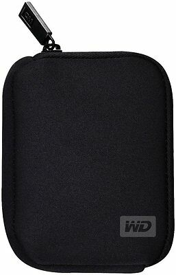 WD Western Digital Genuine My passport carrying pouch case black 2.5 hdd Neopren