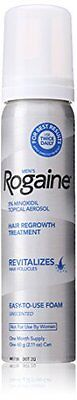 Rogaine for Men Hair Regrowth Treatment, 5% Minoxidil Topical Aerosol, Easy-to-