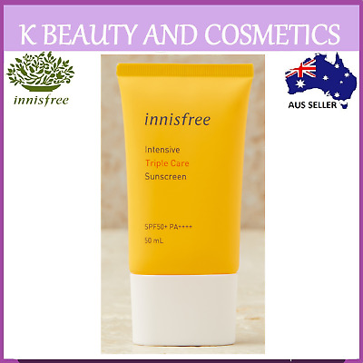 [Innisfree] Perfect UV Protection Cream TRIPLE CARE SPF50+ PA+++ 50ml Sunscreen