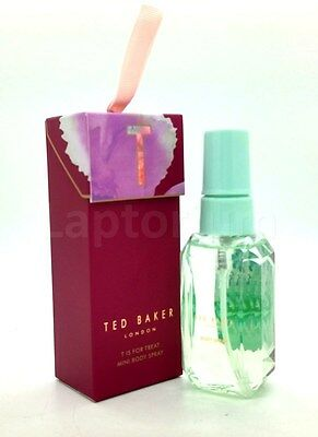 Ted Baker London T Is For Treat Mini Body Spray Violet Vanilla & Amber 50ml