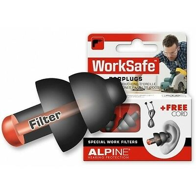 Alpine protections auditives Worksafe 1 paire
