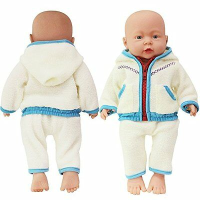 Highmall 16 Inches High Simulation Baby Dolls Clothes Jacket Suit Blue
