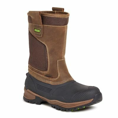 Apache Traction Waterproof Rigger Safety Boots - Tan