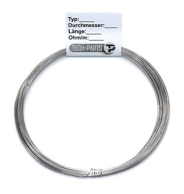 0,45mm 3,1 Ohm/m Cuprothal 49 Widerstandsdraht Heizdraht AWG 25 Kanthal Draht