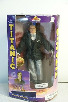 History of Titanic Thomas Andrews Limited Edition Figure / Doll
