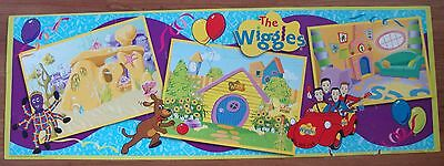 The Wiggles Cardboard Jigsaw Floor Puzzle Anthony Sam Murray Jeff Big Pieces
