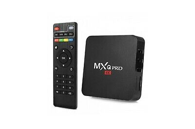 MXQ PRO 4K Smart BOX Android 8.1 QUAD Core 64bit WiFi 8GB MiniPC