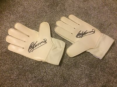 Ray Clemence England & Liverpool Signed Goal Keepers Glove PROOF- SALE