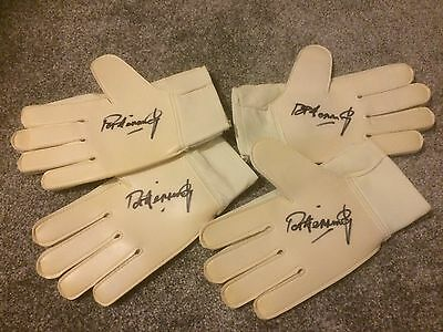 Pat Jennings Northern Ireland & Tottenham Signed Goal Keepers Glove PROOF