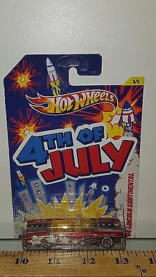 hot wheels 4th of july 39 64 lincoln continental mint. Black Bedroom Furniture Sets. Home Design Ideas