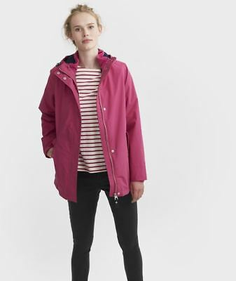 Joules All Weather Jacket - Womens 3 In 1 Quilted Inner Hooded Waterproof Coat