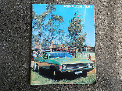 1972 Ford Xa Falcon Ute Sales Brochure  100% Guarantee