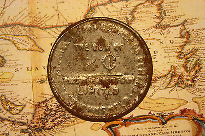 NEWFOUNDLAND STANDARD MANUFACTURING COMPANY 2 CENT TOKEN COIN  lot nf1071