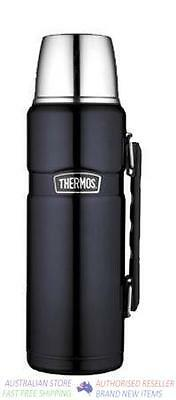 Thermos 24hr Hot & Cold Stainless Vacuum Flask 1.2L Midnight Blue