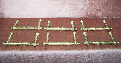 "Vintage Brass Drawer Pulls Handles 3"" Center 4""L"