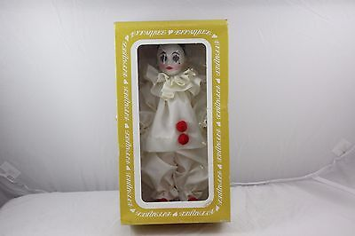 Vintage Effanbee Pierrot Collection French Clown Doll - 2245 New in Box  C5