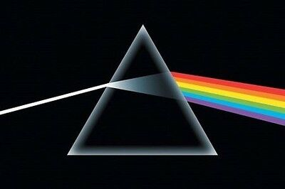 PINK FLOYD DARK SIDE OF THE MOON LP COVER POSTER 36x24 NEW FREE SHIPPING