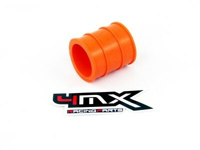 4MX EXHAUST TO MUFFLER SILICONE RUBBER SEAL 2 STROKE  30mm ID - ORANGE  KTM