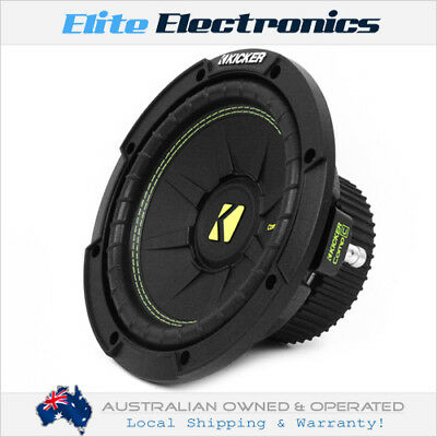 """Kicker 44Cwcs84 Compc Series 8"""" 200W Rms Single 4-Ohm Subwoofer Svc Free Air Use"""