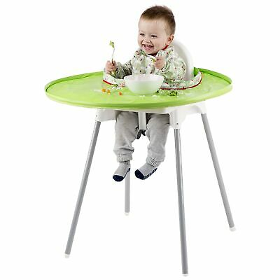 Tidy Tot Baby/Child/Toddler Feeding High Chair Highchair Bib And Tray Kit Green