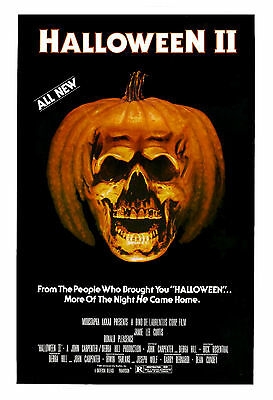 Horror: Michael Myers in * Halloween * USA Movie Poster 1981 Large Format 24x36