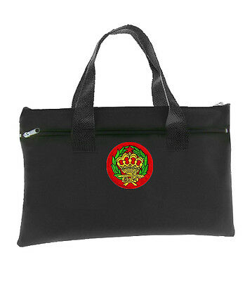 Amaranth Black OES Tote bag for - Colorful Crown and Wreath Round Classic Icon