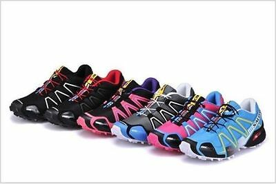 2016 Hot Women's Salomon Speedcross 3 Athletic Running Outdoor Hiking Shoes
