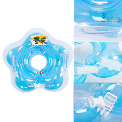 Flower Type Infant Neck Collar Swimming Ring Inflatable Neck Float For Baby Kids