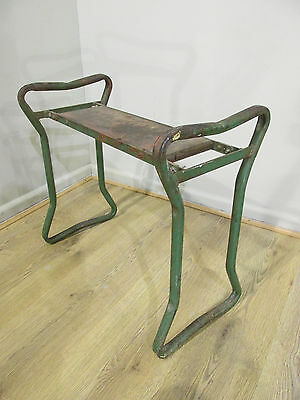 Original Vintage Antique Corrie Ironcrete Industrial Workers Stool / Chair