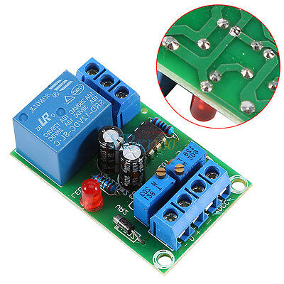 12V Storage Battery Auto Charging Controller Module Smart Charger Relay Board