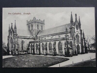 N Ireland ARMAGH Pro Cathedral Old Postcard by H. Allison & Son