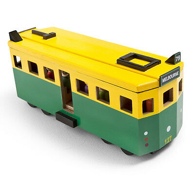 toy wooden Tram Melbourne city