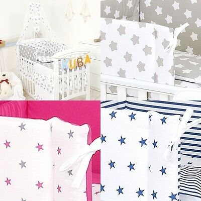 COT COTBED BEDDING SET ORGANISER, 6 PCS,9,11 PIECES - multiple variation listing