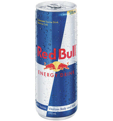 Red Bull Cans 250ml x 24