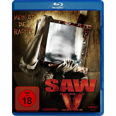 SAW V 5 Blu Ray NEU + OVP
