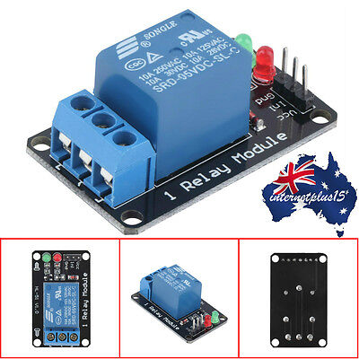 Effective Stable 1 Channel 5V Indicator Light LED Relay Module For Arduino I6@