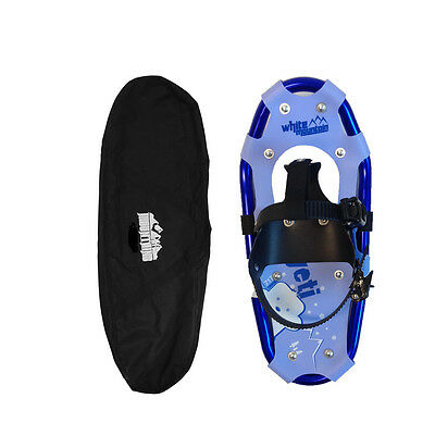 7x17in Yeti snowshoes for kids with tote bag- Brand new