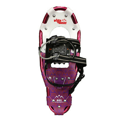 8x21in pink rapid fastening snowshoes with tote bag- Brand new