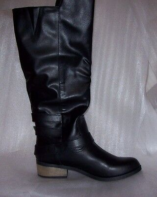 Womens Arizona Caleb Black Riding Boots Multiple Sizes New In Box Msrp$90