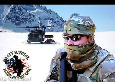 Multicam Cold Weather Cap and Neck Gaiter Combo Set